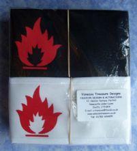 Wrap Armband - Fire Hazard